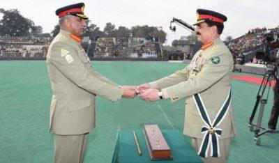 Gen Qamar Bajwa and Raheel Sharif