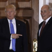 Gen. John Kelly and Doland Trump