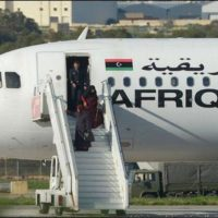 Libya Airplane Hijacking