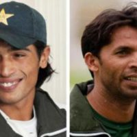 Muhammad Asif and Amir