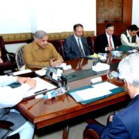 Nawaz Sharif Cabinet Meeting