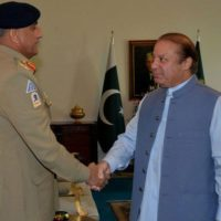 Nawaz Sharif and General Qamar Javed Bajwa