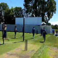 Pakistan's Players Practice