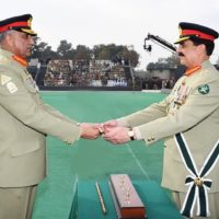 Raheel Sharif and Qamar Javed Bajwa