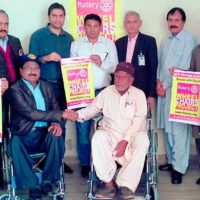 Rotary wheekl chairs distribution