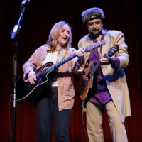 Salman Ahmed and Melissa Etheridge