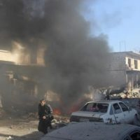 Syrian Warplanes Bombing