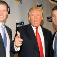 Trump with Sons