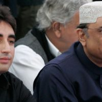 Zardari and Bilawal Bhutto
