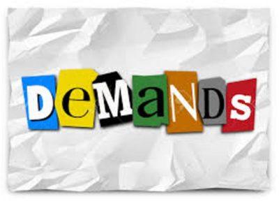 Demands