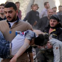 Aleppo Children Killed