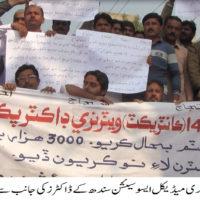 Badin Protest