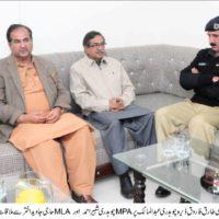 Chaudhry Tariq Farooq-Meeting