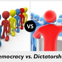 Democracy vs Dictatorship