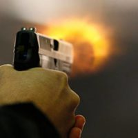 Firing with Pistol