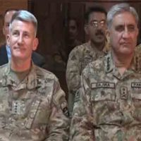 General Nicholson and Qamar Javed Bajwa