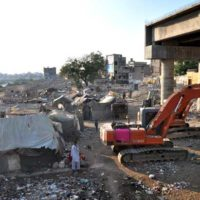 Karachi illegal Settlements