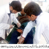 Khanewal Patient Injured