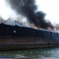 Lasbela Ship Fire