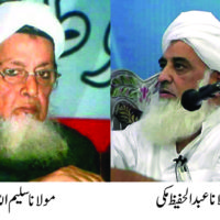 Moulana Abdul Hafeez and Moulana Saleem