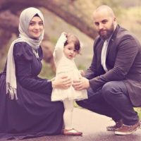 Muslim Couples with Child