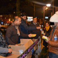 Pakistan Press Club Paris-Food Distributed