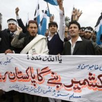 Protest for Kashmir in Pakistan
