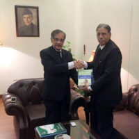Qazi Khalid Ali-Meeting