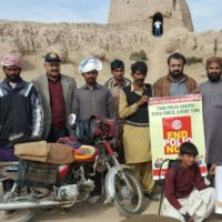 Rotary Polio awareness at Khairgarh Cholistan