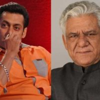 Salman Khan and Om Puri