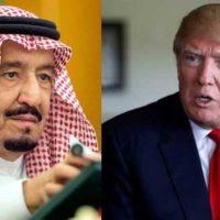 Shah Salman bin Abdul Aziz and Trump