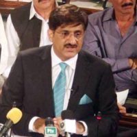 Syed Murad Ali Shah in Assembly