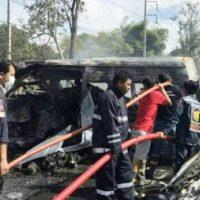 Thailand Passenger Van Accident