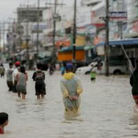 Thailand Rain Flood