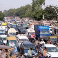 Traffic Jams in Jhang