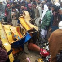 Train Accident Lodhran