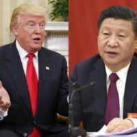 Trump and Xi Jinping