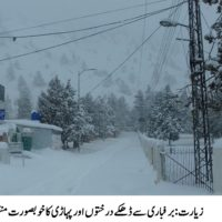 Ziarat Valley, Heavy Snow