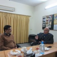 DG Railway Education Visited
