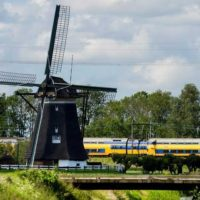 Electric Trains-Wind Turbines