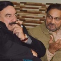 Engineer Iftikhar Chaudhry and Sheikh Rashid