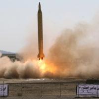 Iran Missile Test