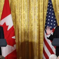 Justin Trudeau and Donald Trump