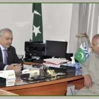 Khalid Usman Qaiser Meeting