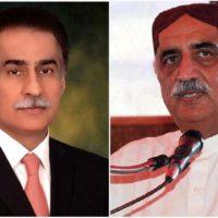 Khursheed Shah and Ayaz Sadiq