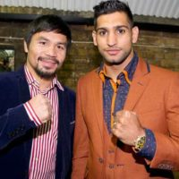 Manny Pacquiao with Aamir Khan