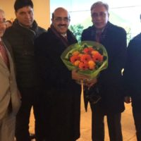 Masood Khan Welcome Brussels Airport