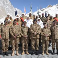 Qamar Javed Bajwa Visit Siachen