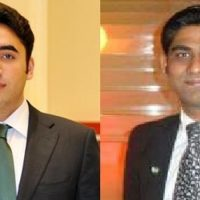 Bilawal Bhutto and Rubin Khokhar