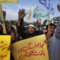Blasphemy Protest in Pakistan